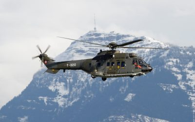 AS-332M1 Super Puma by Mountain