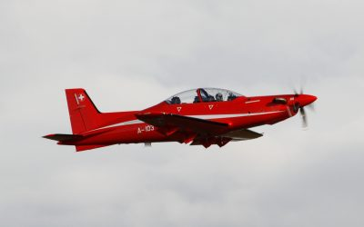 PC-21 Flying