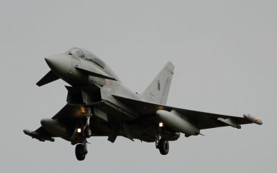 ITaF Eurofighter on Approach