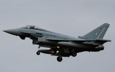 Luftwaffe EuroFighter 3088