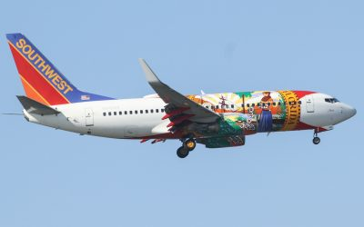 N945WN B737-7H4 Southwest Airlines 2013 Special Florida State Colour Scheme