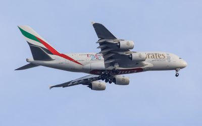 A6-EEM A380-861 Emirates Airline