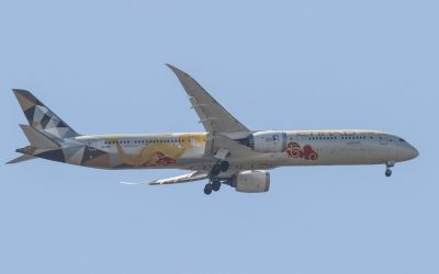 A6-BMD B787-10 Etihad Airways 2020